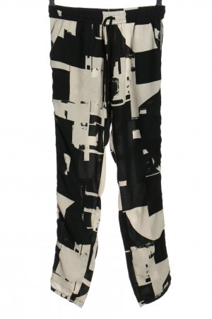 Only Palazzo Pants black-white allover print casual look