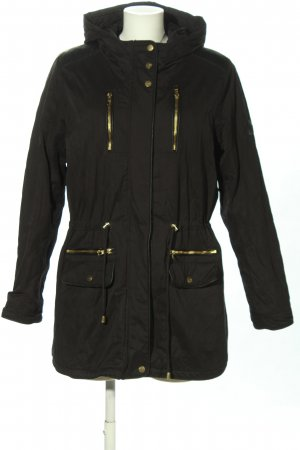 Only Parka braun-goldfarben Casual-Look