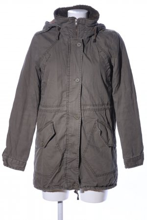 Only Parka lichtgrijs casual uitstraling