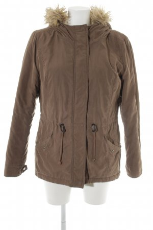 Only Parka hellbraun Casual-Look