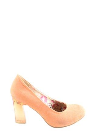 Only Pink High Heels nude extravaganter Stil