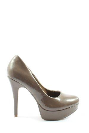 Only Pink High Heels braun Business-Look