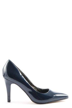 Only Pink High Heels blau Business-Look