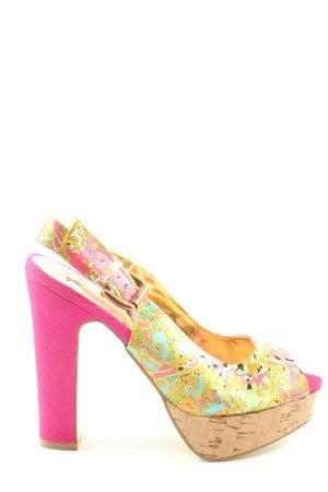 Only Pink High Heels abstraktes Muster Elegant