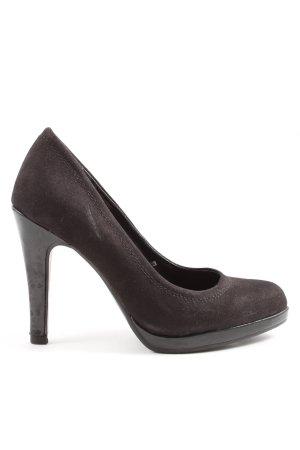 Only Pink High Heels schwarz Casual-Look