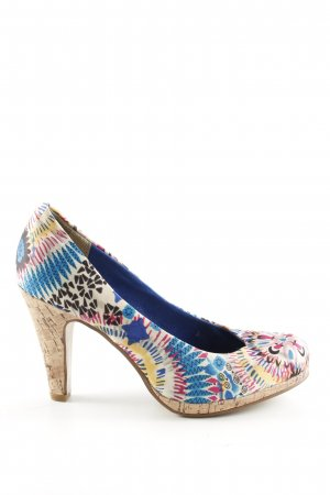 Only Pink High Heels grafisches Muster Elegant