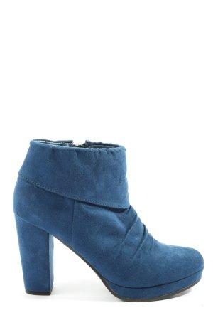 Only Pink Plateau-Stiefeletten blau Casual-Look