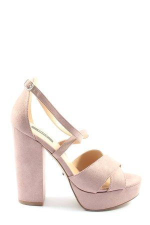 Only Plateau-Sandaletten pink extravaganter Stil