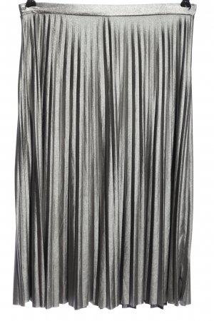 Only Pleated Skirt silver-colored casual look