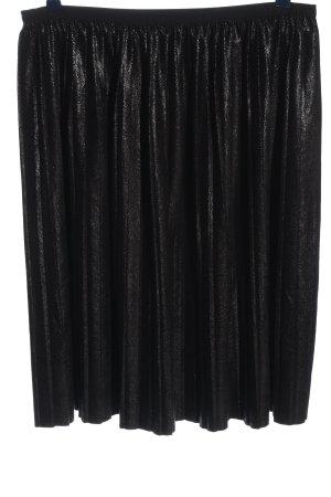 Only Jupe plissée noir style mouillé