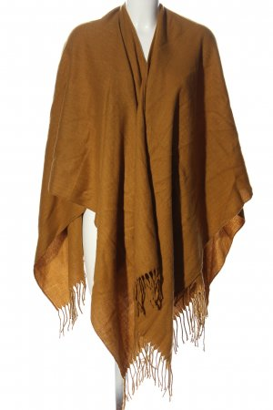 Only Poncho brun style décontracté