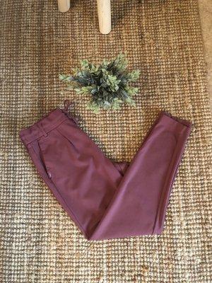 Only Spodnie z zakładkami szaro-liliowy