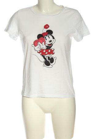 Only Camiseta estampada estampado temático look casual