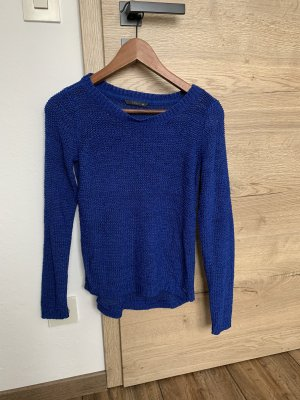 Only Crochet Sweater blue