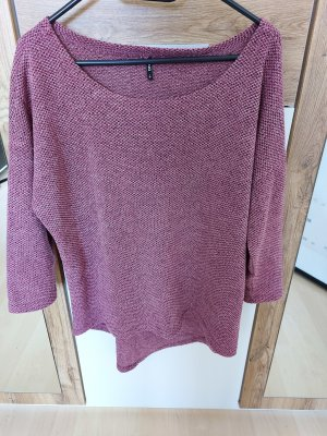 Only Sweater met korte mouwen violet