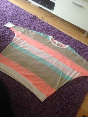 only pullover 34 xs gestreift neuwertig