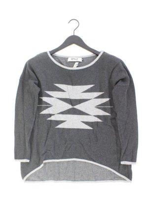 Only Pullover grau Größe M