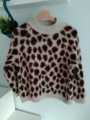 Only Pullover Leopardenprint