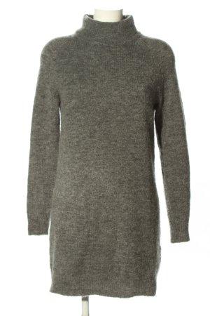 Only Pulloverkleid hellgrau Casual-Look