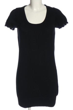 Only Pulloverkleid schwarz Casual-Look