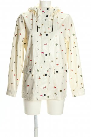 Only Raincoat themed print casual look