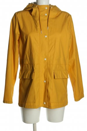 Only Impermeabile giallo pallido stile casual
