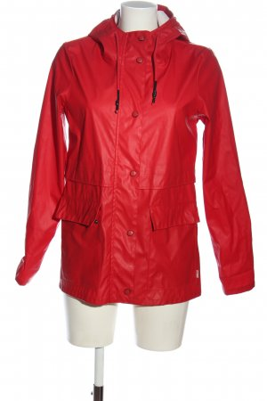 Only Raincoat red casual look