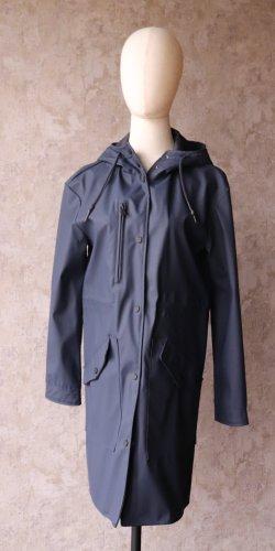 Heavy Raincoat dark blue