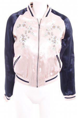 Only Ripstop Jacket flower pattern