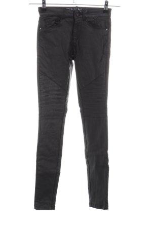 Only Pantalon cigarette noir style décontracté