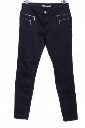 Only Röhrenhose blau Casual-Look