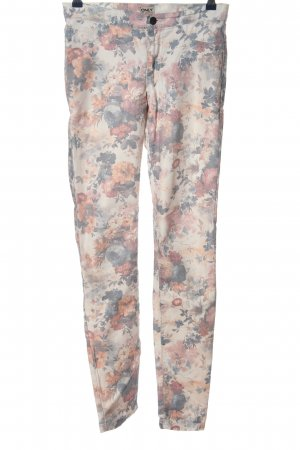 Only Röhrenhose Allover-Druck Casual-Look