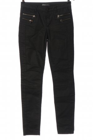Only Drainpipe Trousers black casual look