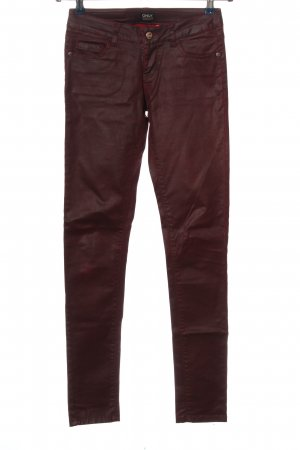 Only Röhrenhose rot Casual-Look