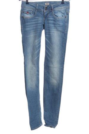 Only Röhrenjeans blau Casual-Look