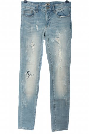 Only Tube jeans blauw casual uitstraling