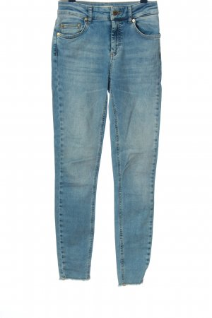 Only Röhrenjeans blau Casual-Look