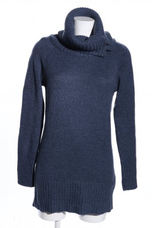 Only Rollkragenpullover blau Business-Look