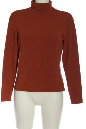 Only Koszulka z golfem brązowy W stylu casual