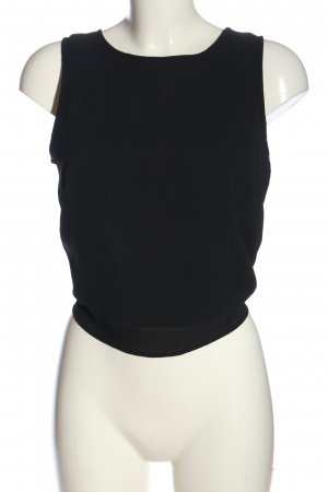 Only Backless Top black casual look
