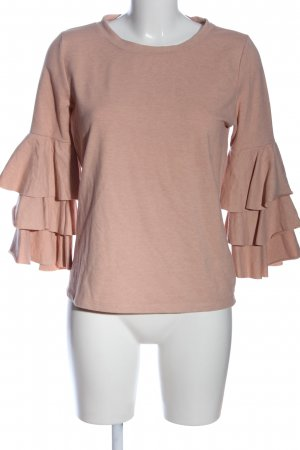 Only Rüschen-Bluse creme meliert Casual-Look