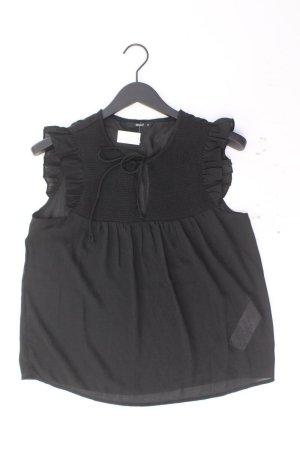 Only Rüschenbluse Größe 40 Ärmellos schwarz aus Polyester