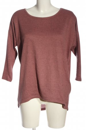 Only Rundhalspullover pink Casual-Look
