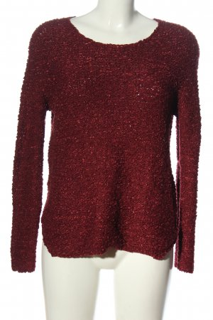 Only Strickpullover rot Casual-Look
