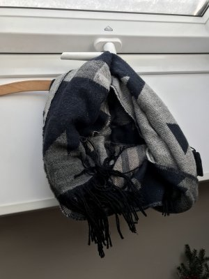 Only Woolen Scarf dark blue