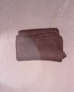 Only Bufanda de lana rojo amarronado-burdeos