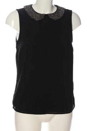 Only Schlupf-Bluse schwarz Elegant