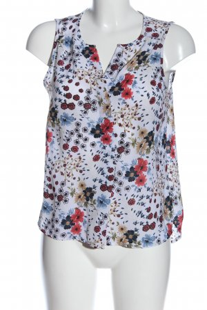 Only ärmellose Bluse Allover-Druck Casual-Look