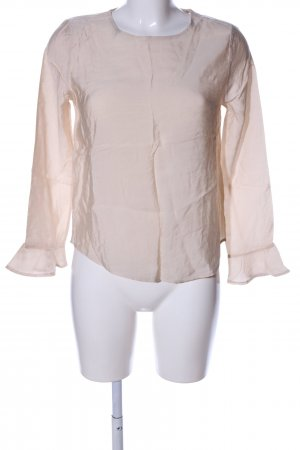 Only Schlupf-Bluse creme Business-Look
