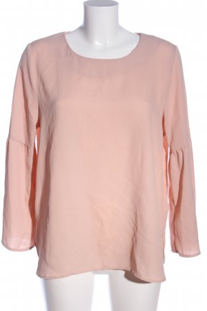 Only Schlupf-Bluse pink Business-Look